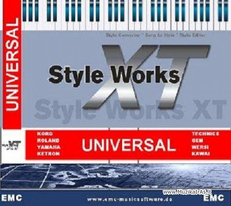 Muzikantams.EMC Style Works XT Universal