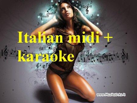 Midi.Italian midi + karaoke