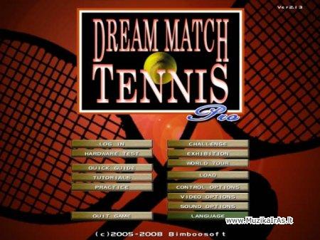 Žaidimai.Portable Dream Match Tennis Pro 2.09