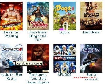 10 самых новых игр 2008 года от gameloft