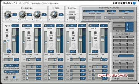 Programos.Antares Harmony Engine Evo VST RTAS PC v3