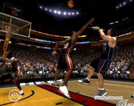 Žaidimai.NBA LIVE 2007
