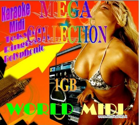 Mega Collection(90000 Midi Files)