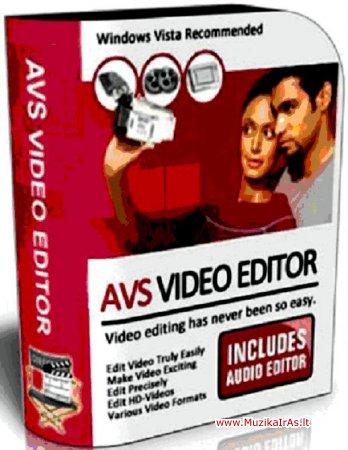 Programos.AVS Video Editor