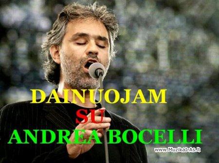 Fonogramos.Andrea Bocelli-dainuojam kartu!