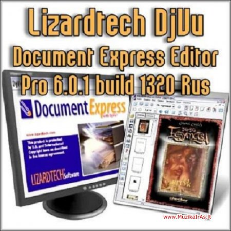 Programos.Lizardtech DjVu Document Express Editor Pro build 1320