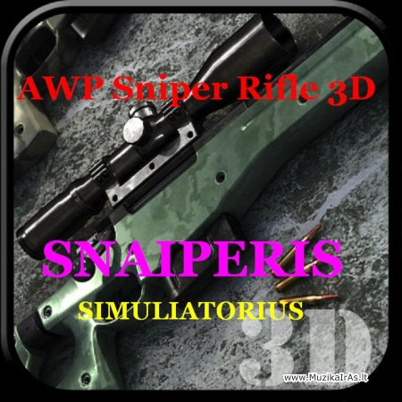 Žaidimai.AWP Sniper Rifle 3D - Симулятор снайперской стрельбы
