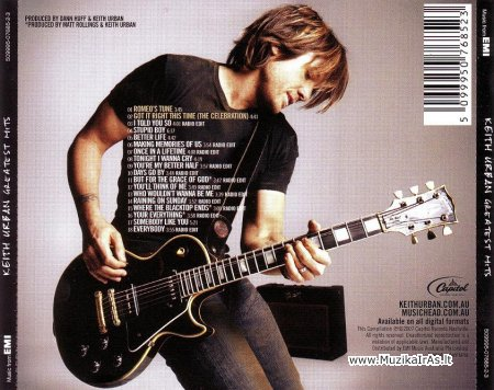 Keith Urban-Greatest Hits