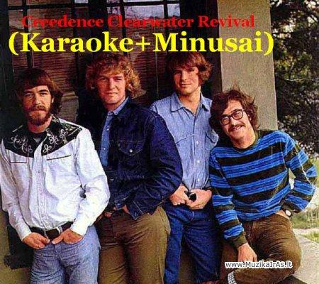 Creedence Clearwater Revival(karaoke+minusai)