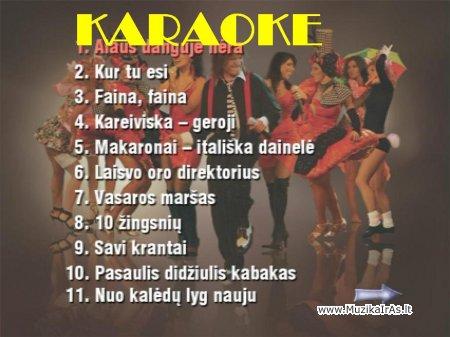 KARAOKE.Žvagulis- geriausios dainos