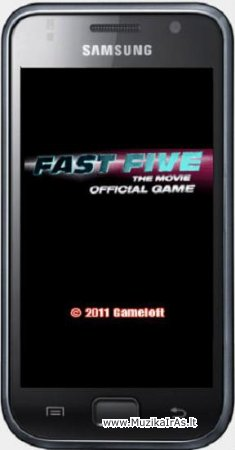 Java žaidimai.Fast Five The Movie Official Game / Форсаж 5