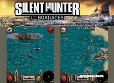 Java žaidimai.Silent Hunter