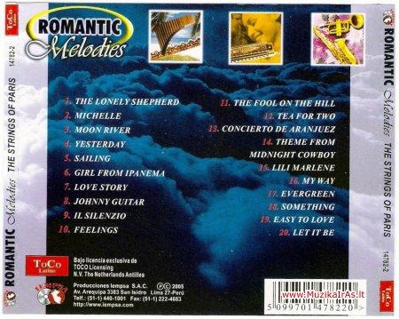 Romantic Melodies(Panflute,Harmonica ,Sax)