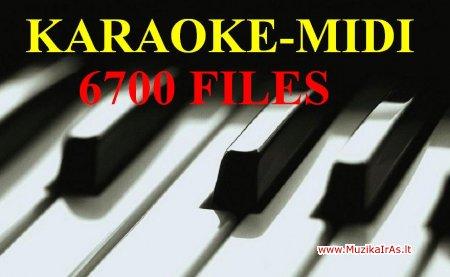 Karaoke-midi