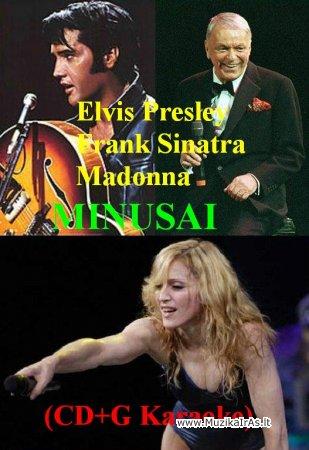 (CD+G Karaoke) - Elvis Presley,Frank Sinatra,Madonna