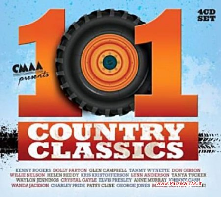Various Artists - 101 Country Classics