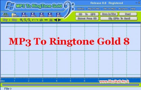 MP3 To Ringtone Gold 8