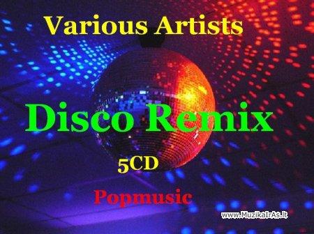 Šokių muzika.Disco Remix