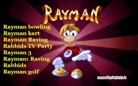 Java žaidimai.Rayman games