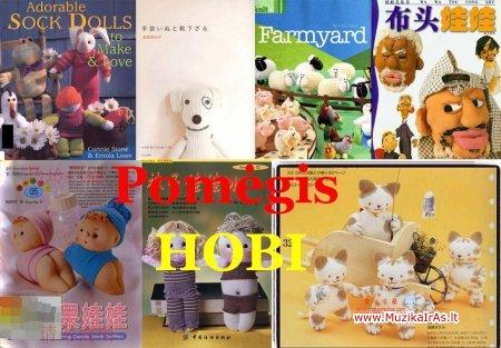Pomėgis(Hobi).Куклы из перчаток, колготок и носков