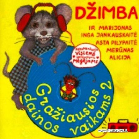 Džimba-Gražiausios dainos vaikams