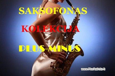 PLUS-MINUS.Kolekcija fonogramų saksofonui