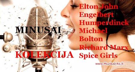 MINUSAI.Elton John,E.Humperdinck,M.Bolton,R.Marx,Spice Girls