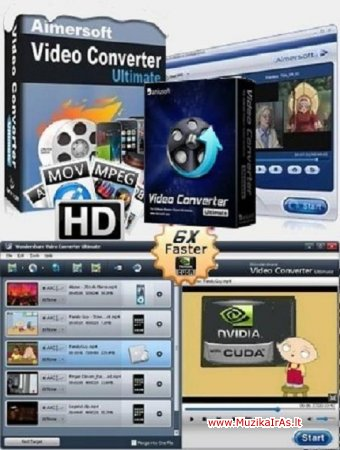 Programos.Aimersoft Video Converter Ultimate
