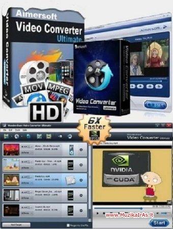 Programos.Aimersoft Video Converter Ultimate