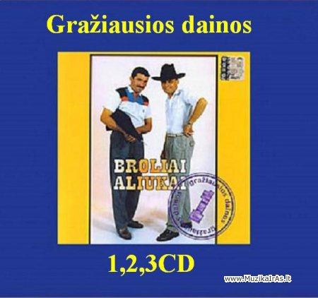 Broliai Aliukai - Gražiausios dainos