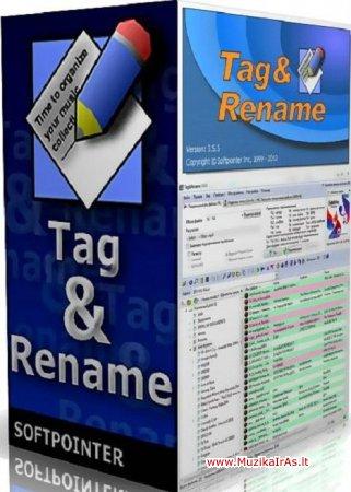 Programos.Tag&Rename v3.6.0 Final + Portable