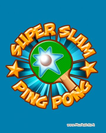 Java žaidimai.Super Slam Ping Pong
