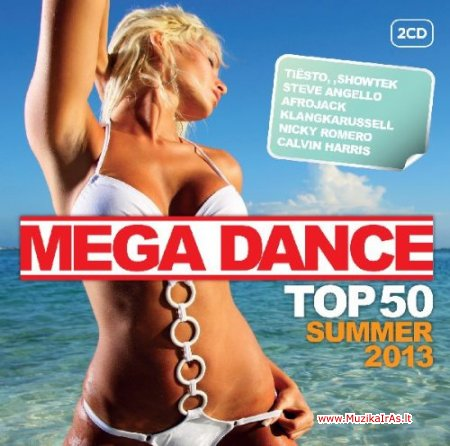 VA- Mega Dance Top 50 Summer 2013