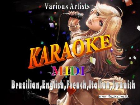 Midi,karaoke.Užsienio atlikėjai(mid,kar)
