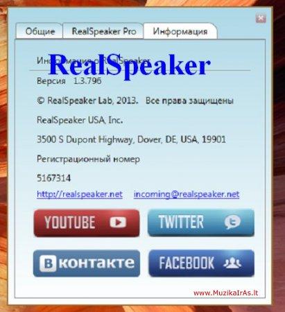 Programos.RealSpeaker