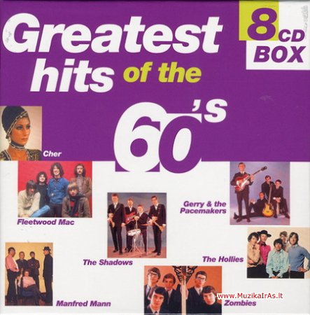 Greatest Hits of The 60's (8CD)