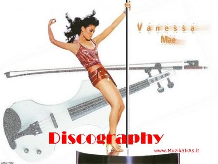 Vanessa Mae-Discography