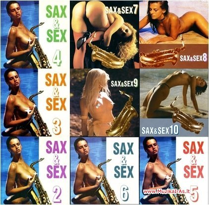 Saksofonas.Sax & Sex 10CD