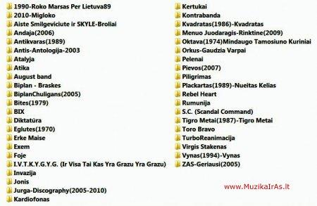 Dainos.Lietuviškų dainų kolekcija