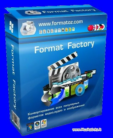Programos.Format Factory v3.3.4 RePack (& Portable)