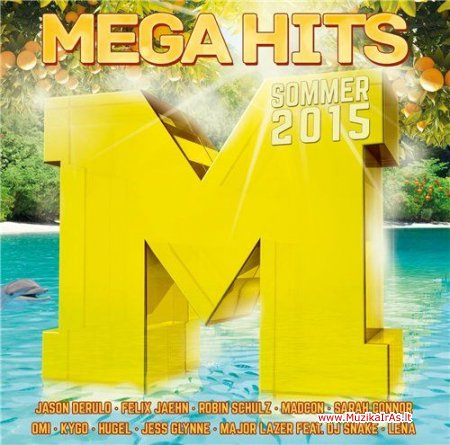 Mega Hits Sommer 2015 (2CD)