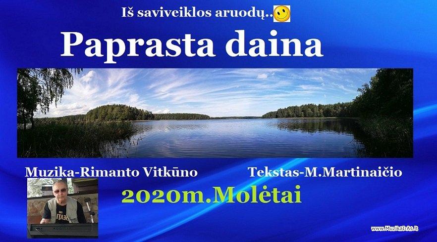 R.Vitkūnas-Paprasta daina
