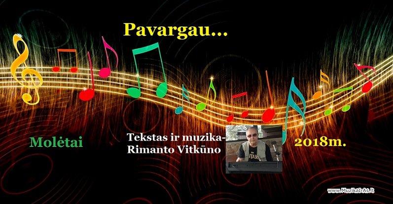 R.Vitkūnas-Pavargau..