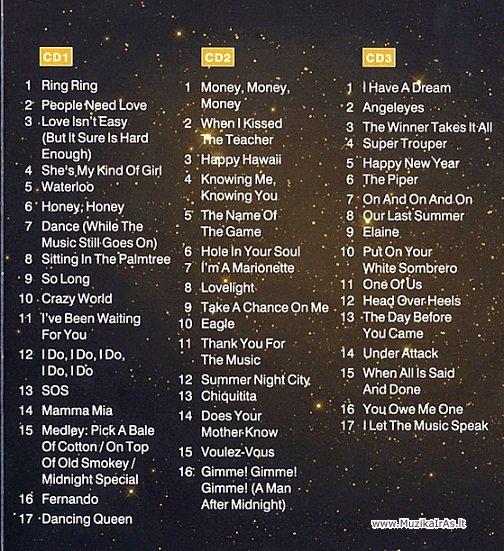 ABBA-Kolekcija(3CD)